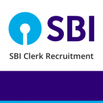 SBI Clerk Job Notification 2020